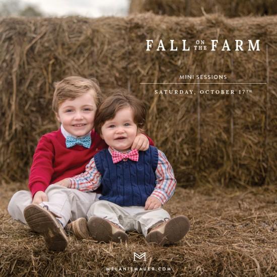 fall on the farm lexington portrait photographer